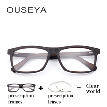 Homens de acetato de Óculos Ópticos fotocromáticas de Grandes Dimensões Do  Vintage Óculos de Computador Miopia Masculino Luz Azu. 753398e162