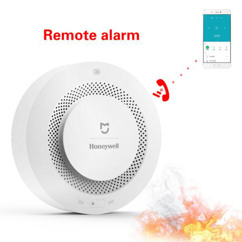 Xiaomi Mijia Honeywell Fire Alarm Detector Audible And Visible Alarm Working With Gateway Smoke Detector Smart Home Remote Contr