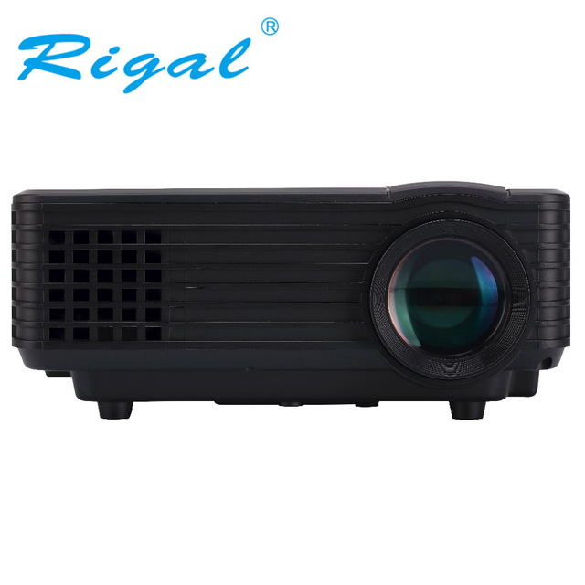 Original RD805 EC77 LED font b Projector b font Full HD multimedia Mini Portable Home Theater