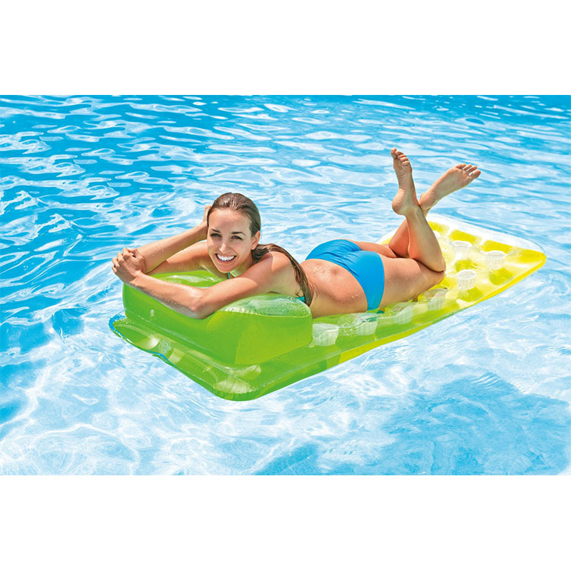 188*71 cm Floating row floating bed loungers water rafting surf horse inflatable swim ring equipped with water beds