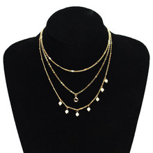 Trendy Fashion Exquisite Pearl Chain Choker Necklace Tassel Multilayer Crystal Statement Necklace Jewelry trendy crystal pearl pendant chain necklace multilayer alloy women fashion clavicle choker necklace jewelry
