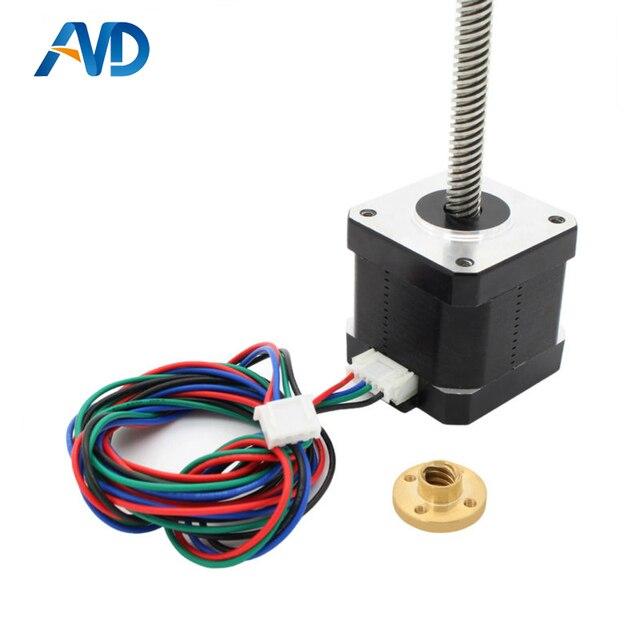 nema 17 lead screw m8 300mm z axis 3d printer kit step motor for 3d rh aliexpress com