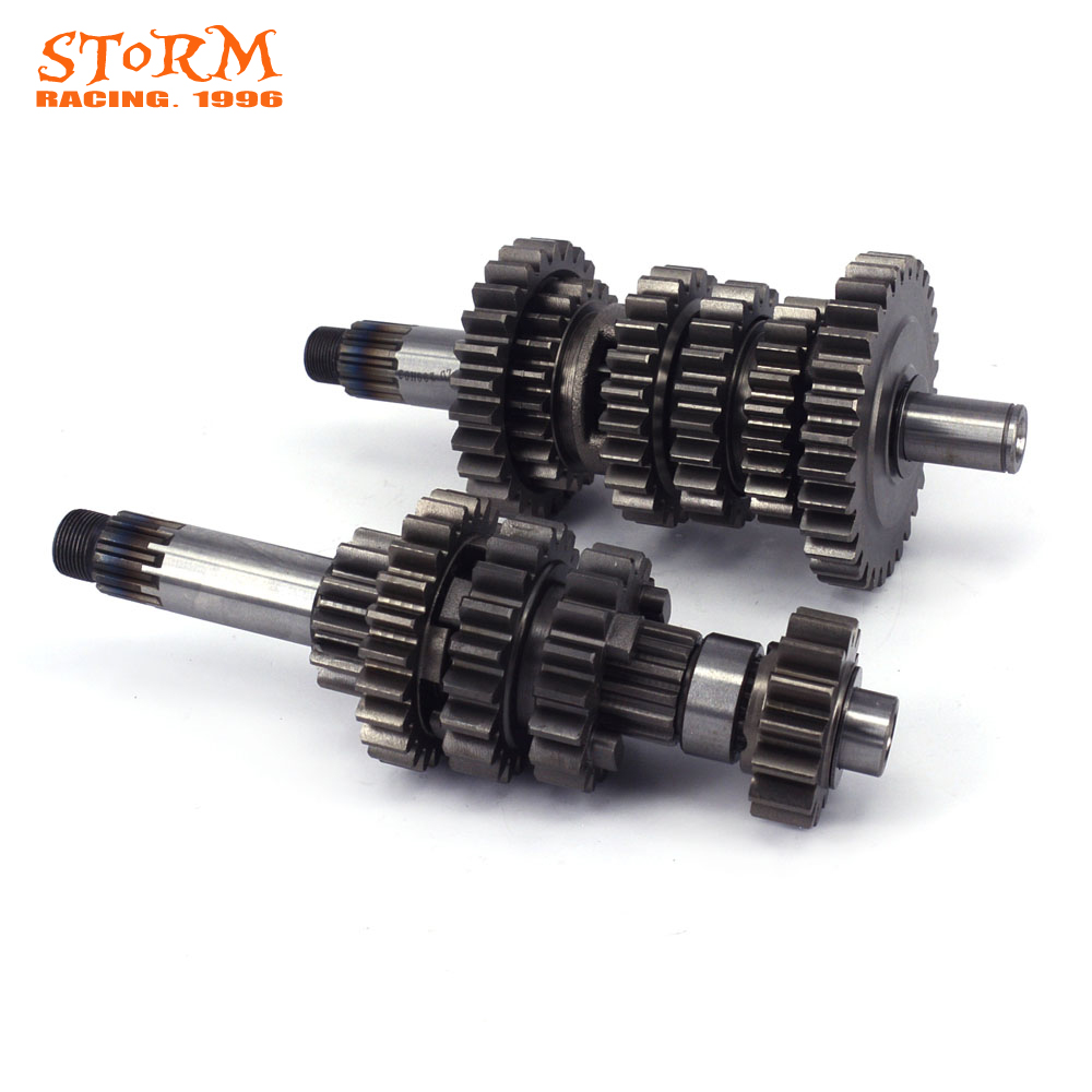 Five Speed Counter Shaft Countershaft Main Gear For Xmotos KAYO T6 K6 J5 RX3 XZ250R NC250 NC250CC NC XZ250R ZS250GY-3 Motorcycle oil filter clearance for zs177mm zongshen engine nc250 kayo t6 k6 bse j5 rx3 zs250gy 3 4 valves parts motocross page 5