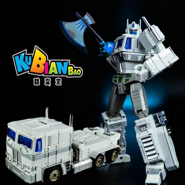 ( In-Stock ) TOY KBB - MP10V - Optimus Prime white - MP10V-U - Ultra Magnus