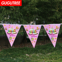 Decorate 2.2m pink blue cake banners wedding event christmas halloween festival birthday party HY-420 decorate 2 2m boys gilrs family banners wedding event christmas halloween festival birthday party hy 435