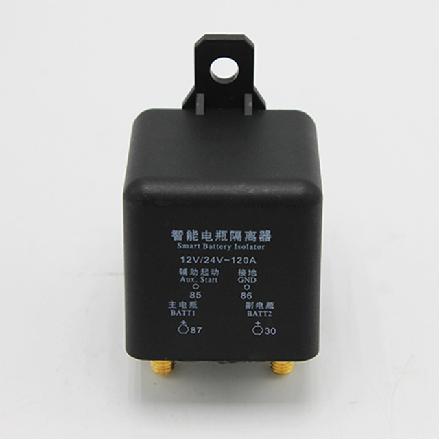 Motorhome Auto Camper Accessories 120A Smart Battery Isolator Dual ...