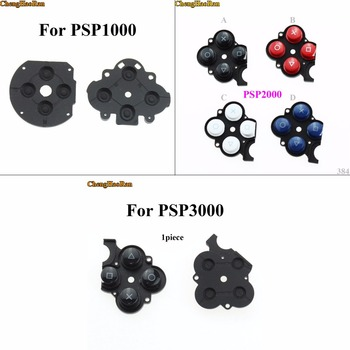 ChengHaoRan Conductive Right Button Plastic Pads For Sony PSP2000 3000,Silicon Rubber Button Switch Conductive Pad for PSP 1000 bi 6187 181a r1k tapped conductive plastic potentiometer 4p