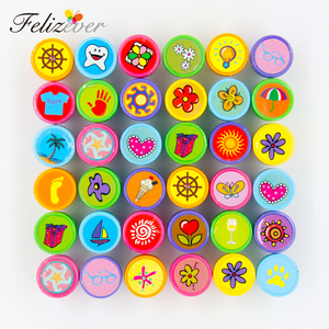 Image 3 - 36PCS Self ink Stamps Kids Birthday Party  Favors for Birthday Giveaways Gift Toys Boy Girl Christmas Goodie Bag Pinata Fillers