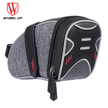 Wheelup MTB Bag Bicycle Saddle Tail Seat Waterproof Storage Bags Cycling Rear Pack Panniers Accessories Reflective Bag
