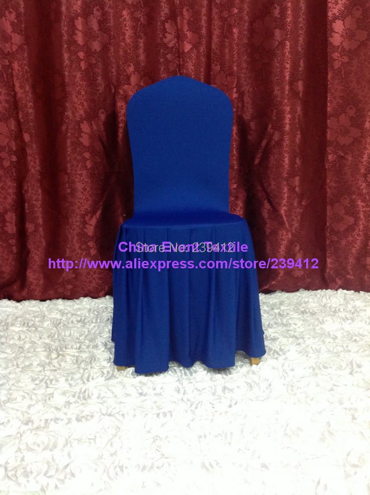 Large Banquet Chair Covers Minnie Mouse Childrens Desk F F1pcs Thicker 29 Blue Pink Pleated Skirting 1pcs Cover For Wedding Events Party Decoration