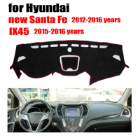 Car Dashboard Covers For Hyundai New Santa Fe 2012 2016 IX45 2015 2016 Left Hand Drive