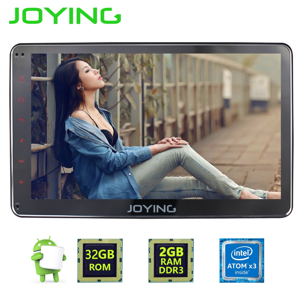 JOYING 2GB Single DIN 7 Tape Recorder Android 6 0 Car font b Radio b font