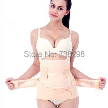 7f363e56e689e Maternity abdomen drawing binding with elastic body shaper waist belt corset  bodysuit women waist training corsets slimming belt