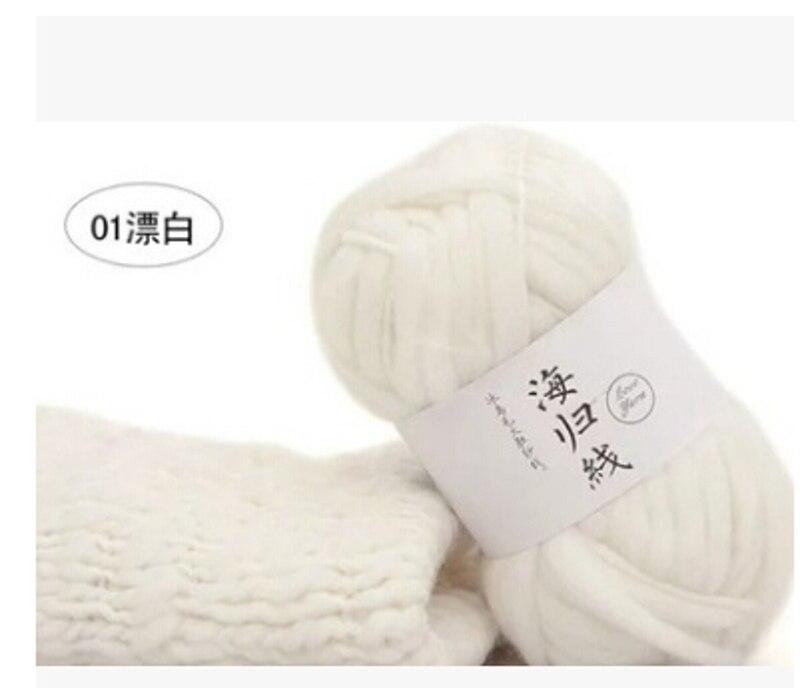 22 colores hilo de lana gruesa Super voluminoso brazo tejer lana ...