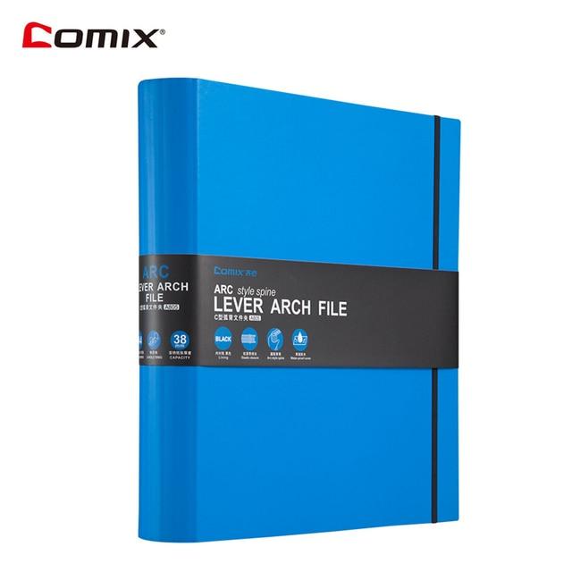 comix a4 file folder document bag lever arch file 2 ring binder