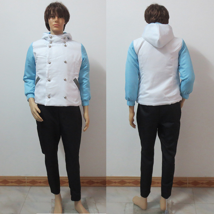 Dramatical Murder DMMd Seragaki Aoba Youth Cosplay Jacket Coat And Pants Custom Made Any Size