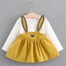 6e54f8eec03c1 Menoea 2018 Autumn Style Newborn Baby Girl Clothing Set Infant Suit Baby  Girl Clothes T-