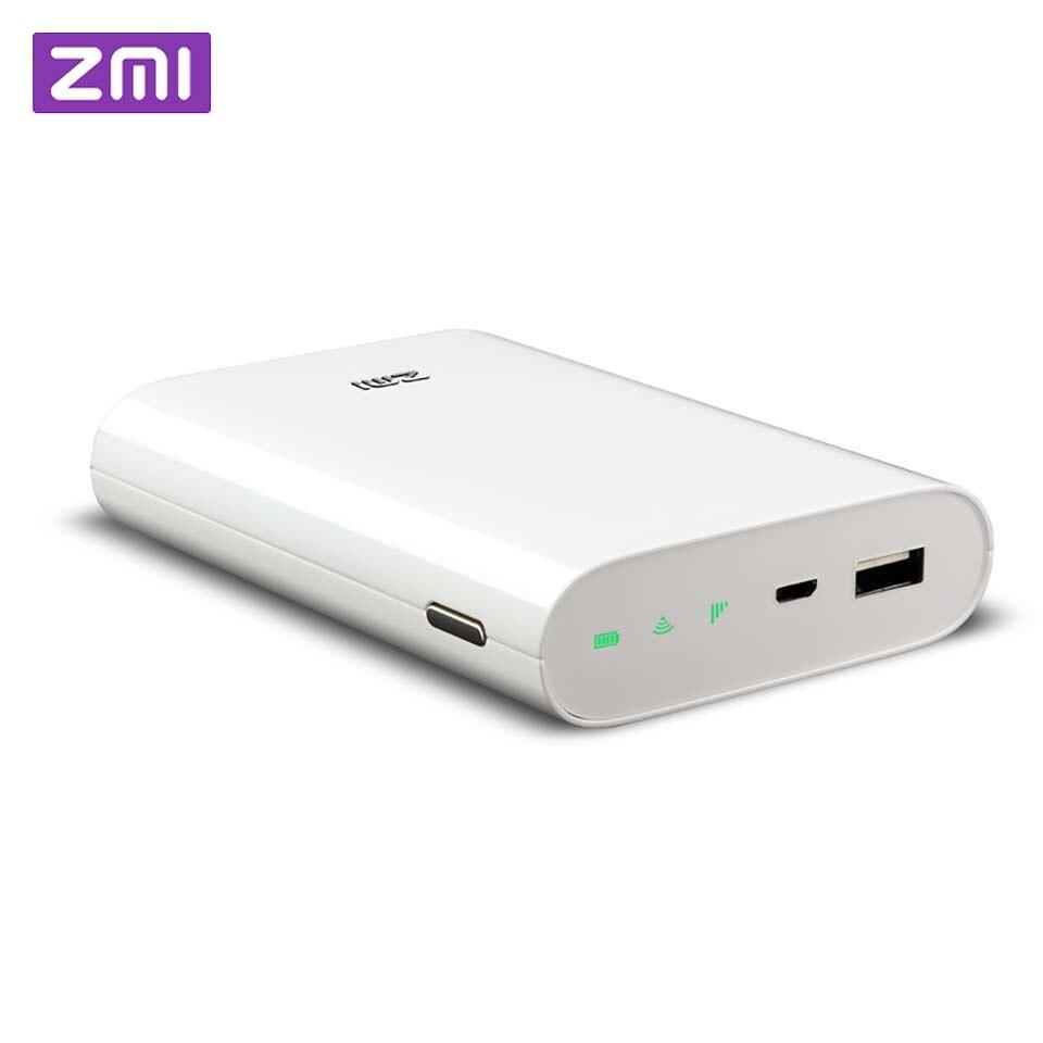 Оригинальный Xiaomi зми 4G Wi-Fi маршрутизатор 7800 мАч Мощность банк 3g 4G Беспроводной Wi-Fi ретранслятор Wi-Fi маршрутизатор мобильной точки доступа 7800...