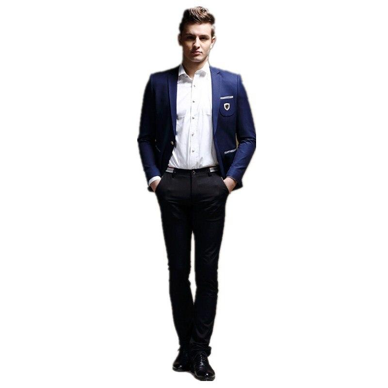 Aliexpress.com : Buy Fashion men's leisure suit young man suit one