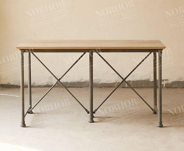 Bureau bois fer vintage bureau bois et fer bureau bois et fer