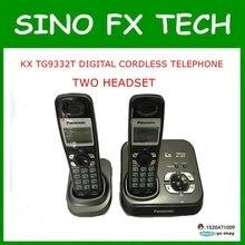 Оригинальный беспроводной KX-TG9332T Цифровой ТЕЛЕФОН 2 Телефоны DECT 6.0 Цифровой Беспроводной Телефон 2 Телефоны 98% новый