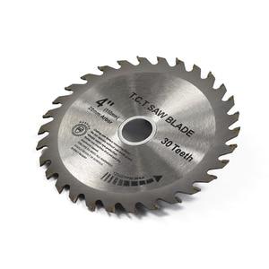 Image 3 - XCAN 1pc 4(110mm)x20x1.8mm 30Teeth TCT Saw Blade Carbide Tipped Wood Cutting Disc Circular Saw Blade
