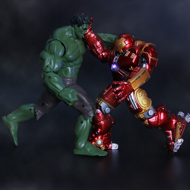 "7/"" Action Figure Marvel Avengers 2 Age of Ultron IRON MAN HULK BUSTER"