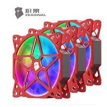 Zeaginal RGB вентилятор Mobo и синхронизации для ПК чехол 5V D-RGB полный Алюминий сплав 12032 водяного охлаждения радиатора новое поступление