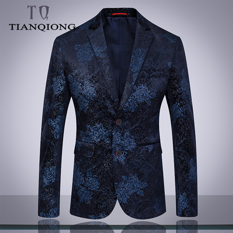 Erkek Kıyafeti'ten T. Elbise'de Marka Erkekler Düğün Takım Elbise 2019 Bahar Çiçekleri 3 Parça Takım Elbise Pantolon ile Erkekler 4XL 5XL6XL Lacivert Balo Takım Elbise Sahne giyim'da  Grup 3