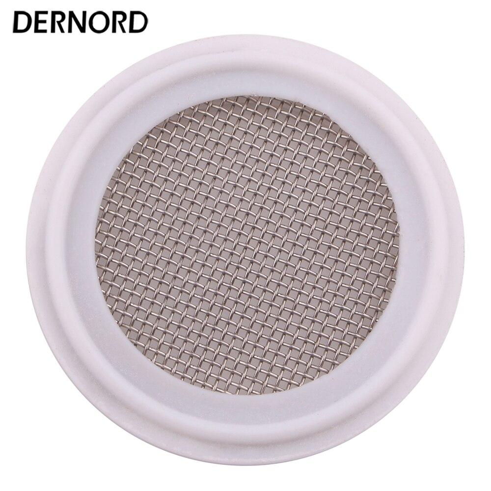 Joint sanitaire DERNORD 20 Mesh, bande d'étanchéité PTFE Tri pince 1.5 ''-4'', écran en acier inoxydable