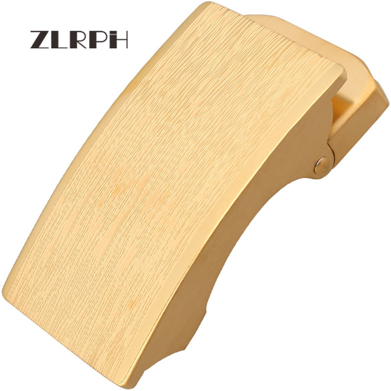 ZLRPH Trendy Design Belt Buckle Head High-grade Polished Electroplating Alloy Automatic Buckle Belt Buckle Stainle Steel