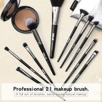 20pcs Eye Makeup Brushes Kit Foundation Brush Blush Brush Lip Eyeshadow Eyelash Eyebrow Brush Set