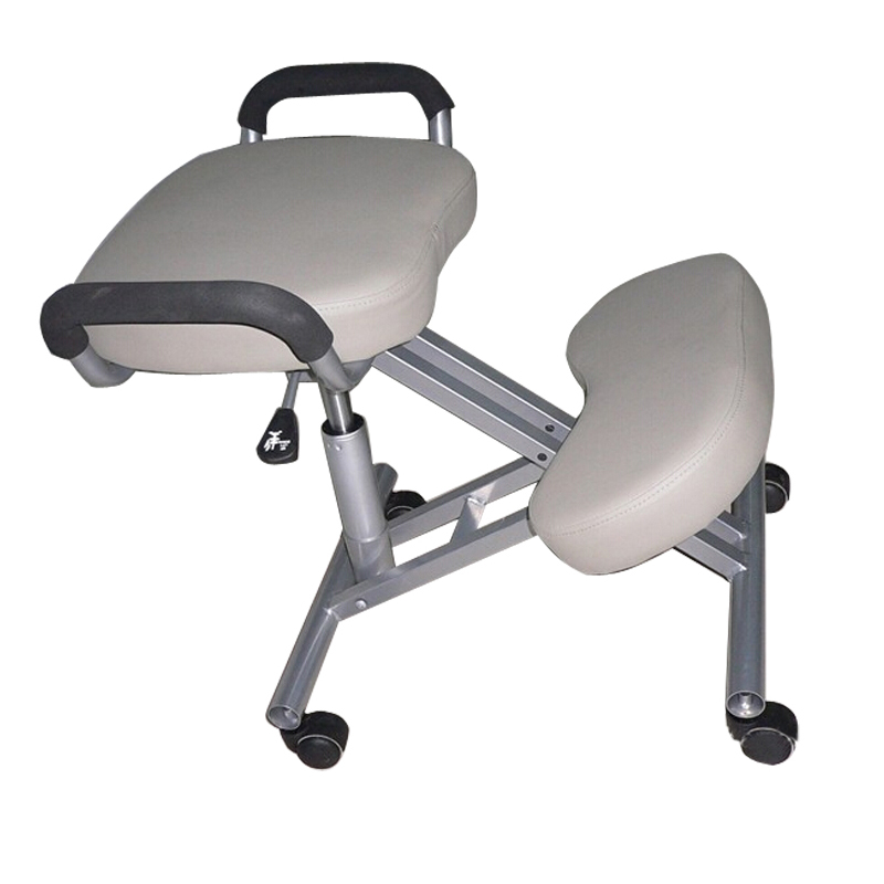 PU LEATHER SEAT IRON MATERIAL KNEELING CHAIR OFFICE CHAIR EXPORTED QUALITY