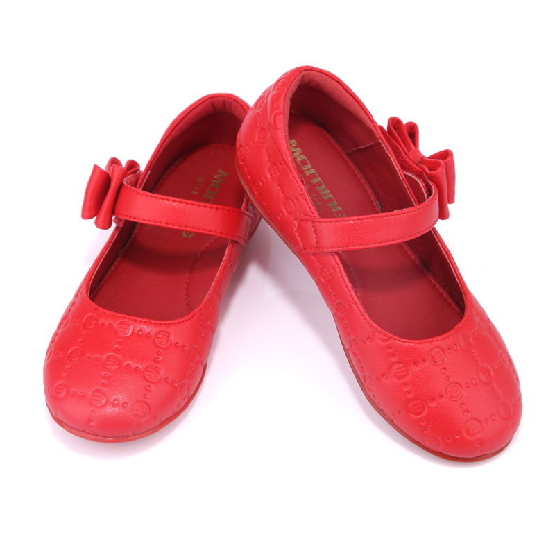 Girls shoes spring and autumn hot pressure printing ballet flats children's shoes butterfly-knot show kids shoes girl shoes spring and autumn flash cute princess children shoes soft insole flat bottom show shoes butterfly knot convenience