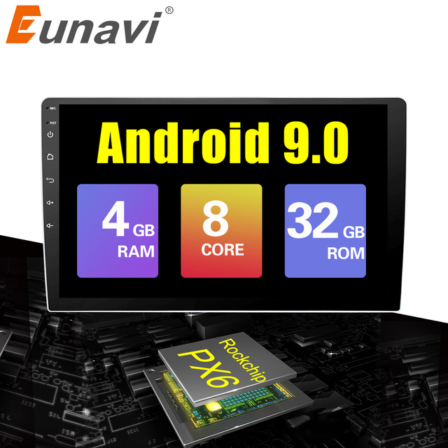9/10 inch Android 9.0 universal Car Radio 2 din android car radio DVD Player GPS NAVI WIFI Bluetooth