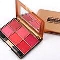 Miss rose marca bronceador rubor paleta de maquillaje mineraliza baked colorete colorete en polvo de cara se ruboriza 6 color 7004-014y