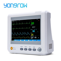 Yongrow Medical 7 Inch ICU CCU Patient Monitor best price 6 Parameters Patient Monitor equipment ICU Patient Monitor Vital Sign