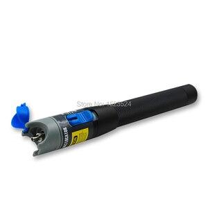 Image 3 - 10 Stks/set Ftth Glasvezel Tool Kit Met Fiber Cleaver Glasvezel Stripper Optische Power Meter Visual Fault Lcator 5km