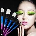 Profesional 5 Unids Pinceles de Maquillaje Set Sombra de Ojos En Polvo Ceja Blush Fundación Brush Kit Mujeres Belleza Maquillaje Pincel Maquiagem