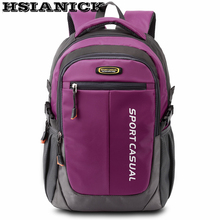 Large-capacity high quality backpack fashion casual travel bag middle school sport waterproof shoulder