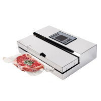 ITOP Electric Semi commercial Vacuum Sealer Packing Machine Food Sealer For Vacuum Packed Fish Sea Vacuum Sealer 110V/220V