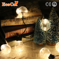ECO Cat outdoor 20 led wedding string fairy light christmas LED Globe Festoon Ball led fairy string light party wedding garden
