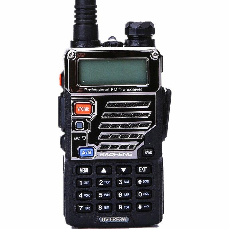 BAOFENG UV-5RE 8 w 10 km lungo raggio AD ALTA POTENZA Palmare walkie talkie 2800 mah Batteria cb HAM Two way aggiornamento della Radio di UV 5RE
