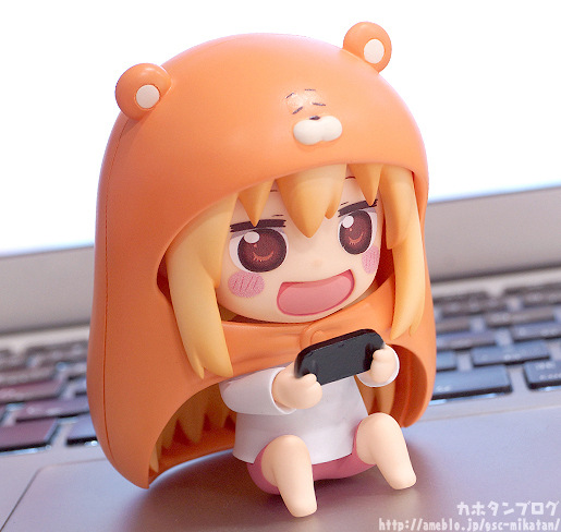10cm Himouto Umaru-chan Nendoroid Umaru #524 Anime Action Figure PVC toys Collection figures for friends gifts 36