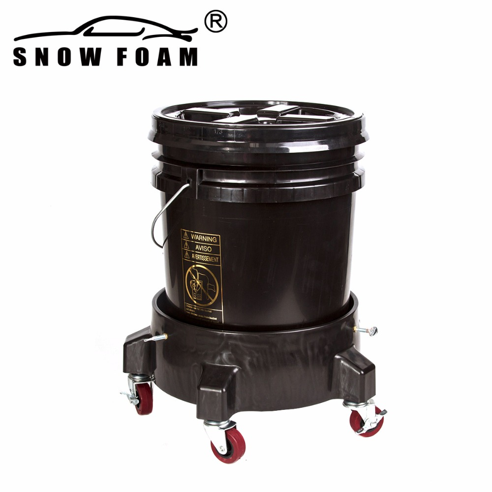 US $79 0 |MJJC Brand with High Quality Detailing Kit of bucket dolly, 5  gallon bucket, Grit Guard, Wash Board and Gamma seal lid-in Water Gun &  Snow