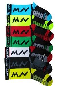 Высокое качество Pro team мужские и женские велосипедные носки MTB велосипедные носки дышащие носки для шоссейного велосипеда спортивные носки для спорта на открытом воздухе 2018