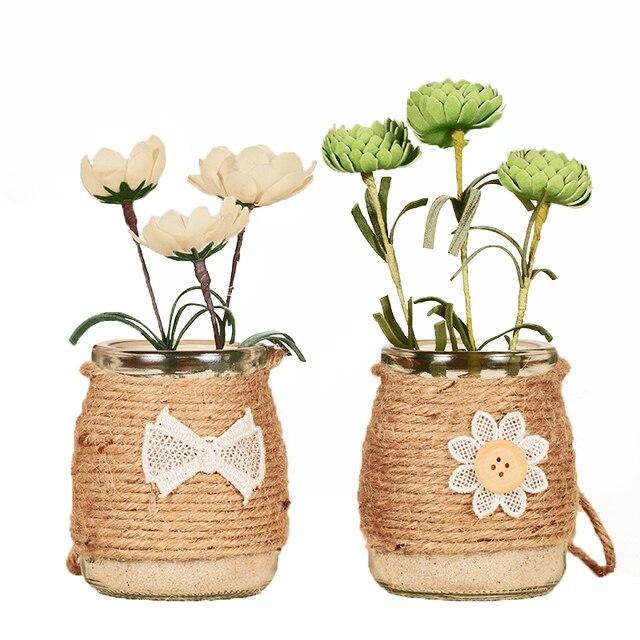 Piante Grasse In Vetro.Giardinaggio Creativo Stile Vasi Di Vetro Decorazione Domestica