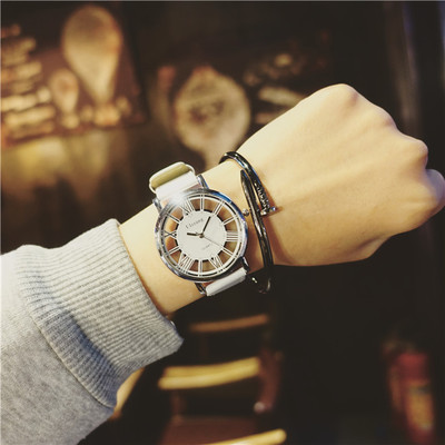 Fashion trend sports men's watch couple watches women's watch students Korean version of the simple casual atmosphere Harajuku s men s casual watches men s watch students quartz watch waterproof business watch fashion trend korean version of the watch