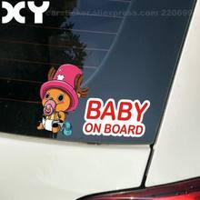 Baby on Board Janela Do Carro Engraçado Bonito Dos Desenhos Animados Adesivos Decalques 7.6