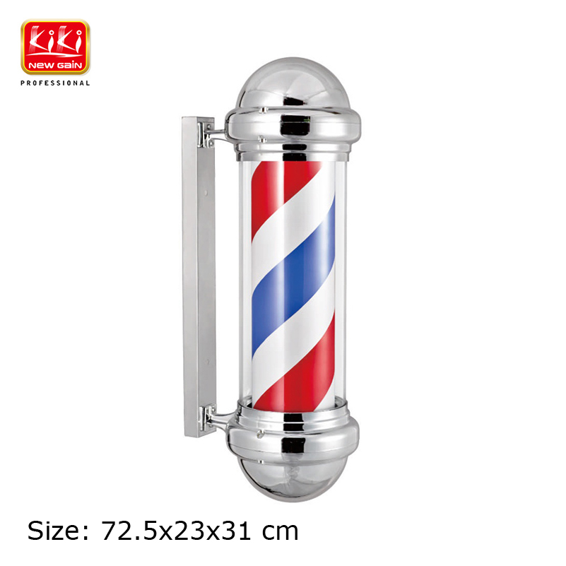 311D size Roating Barber Pole Salon Equipment Barber Sign Free Shipping Hot sell european style